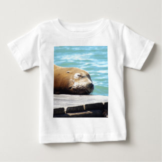 SLEEPING SEA LION BABY T-Shirt