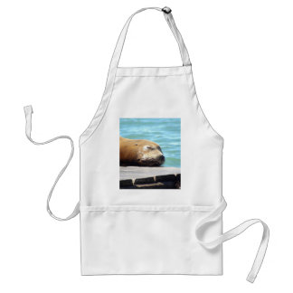 SLEEPING SEA LION STANDARD APRON