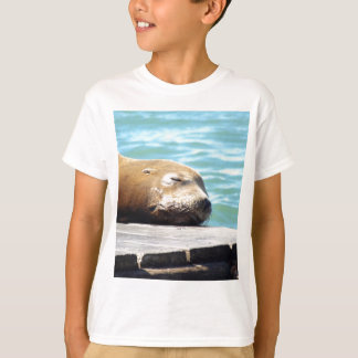 SLEEPING SEA LION T-Shirt