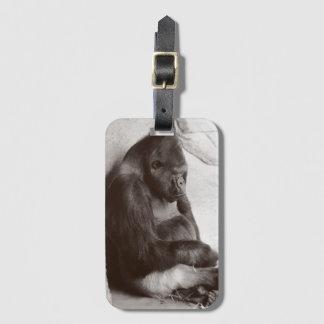 Sleeping Silverback Bag Tag