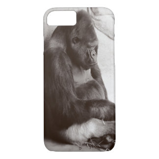 Sleeping Silverback iPhone 8/7 Case