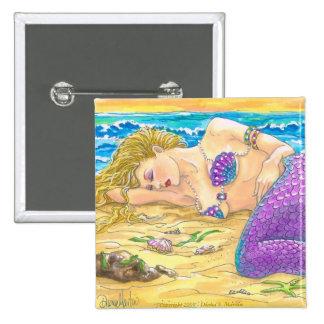 Sleeping Siren 2 Inch Square Button