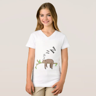 Sleeping sloth T-Shirt
