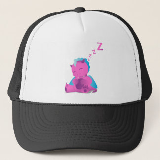 Sleeping Spiffy The Dragon Trucker Hat