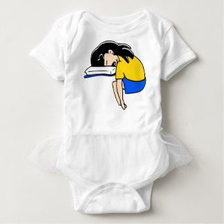 Sleeping Student Baby Bodysuit
