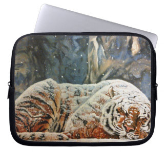 "Sleeping Tiger 10"" Laptop Case"