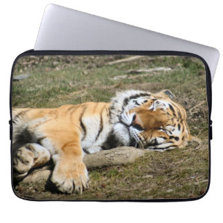 Sleeping Tiger Laptop Sleeve