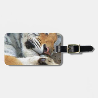 Sleeping Tiger Luggage Tag