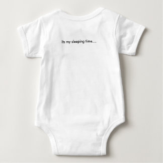 slEEPING tIME fun suits Baby Bodysuit