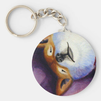 Sleeping Turbeaux Keychain