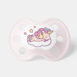 Sleeping Unicorn Kawaii Binkie Pacifier Fooler