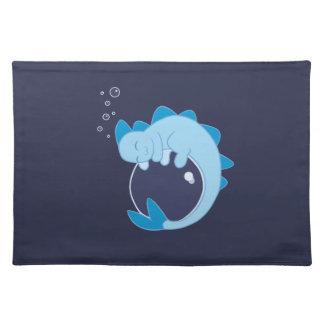 Sleeping Water Dragon Placemat