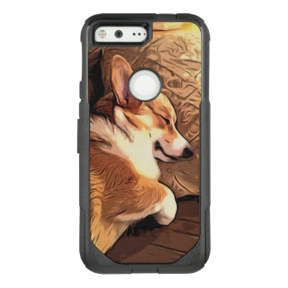 Sleeping Welsh Corgi OtterBox Commuter Google Pixel Case