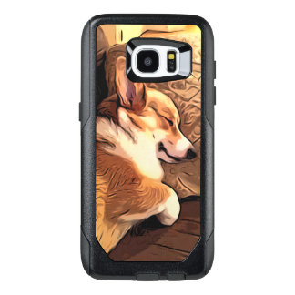 Sleeping Welsh Corgi OtterBox Samsung Galaxy S7 Edge Case