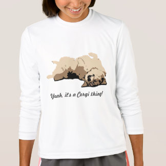 Sleeping Welsh Corgi T-Shirt