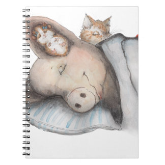 Sleeping with Friends Notebook