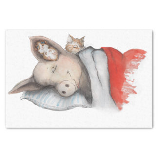 Sleeping with Friends Tissue Paper