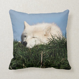 Sleeping Wolf Cushion