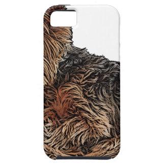 Sleeping Yorkie iPhone 5 Covers