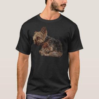 Sleeping Yorkie T-Shirt