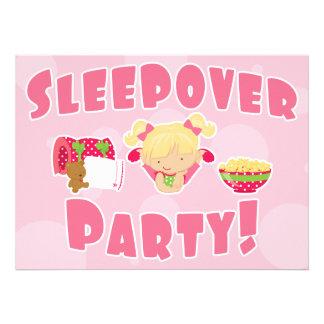 Sleepover Party Invites