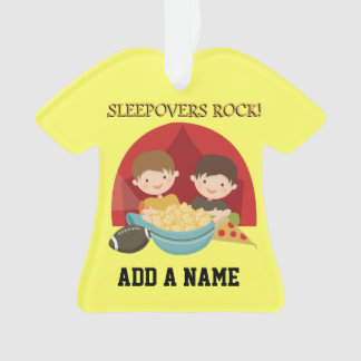 Sleepovers Rock Ornament