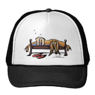 Sleeps with Afghans Trucker Hat