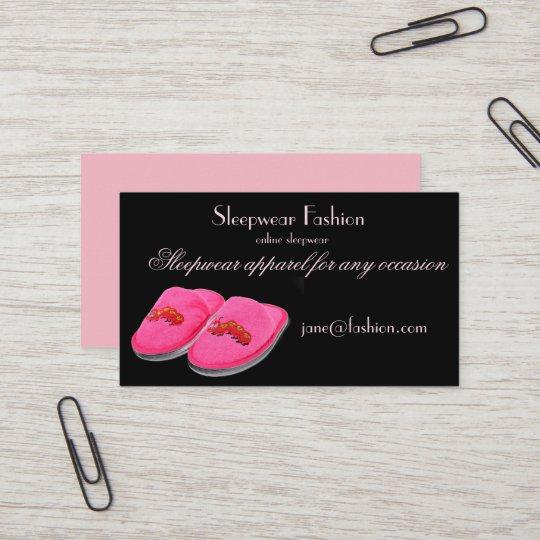 Sleepwear apparel clothing store business card zazzle sleepwear apparel clothing store business card reheart Choice Image