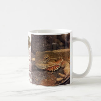 Sleepy and Awake Bearded Dragon mug