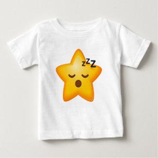 Sleepy Baby Star Emoji Baby T-Shirt