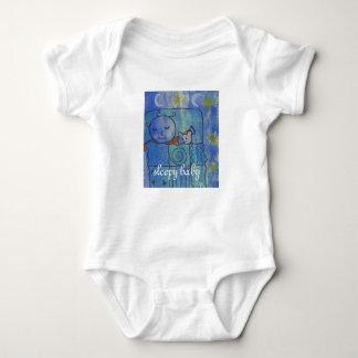 sleepy baby vest baby bodysuit
