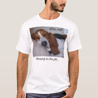Sleepy Basset Hound T-Shirt