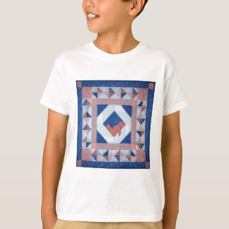 Sleepy Bear Quilt T-Shirt
