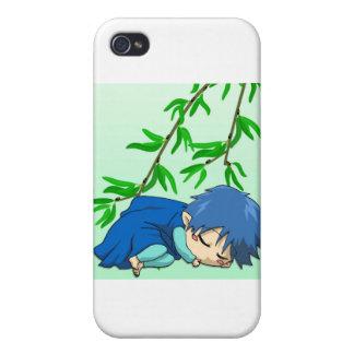 Sleepy boy fairy iPhone 4 case
