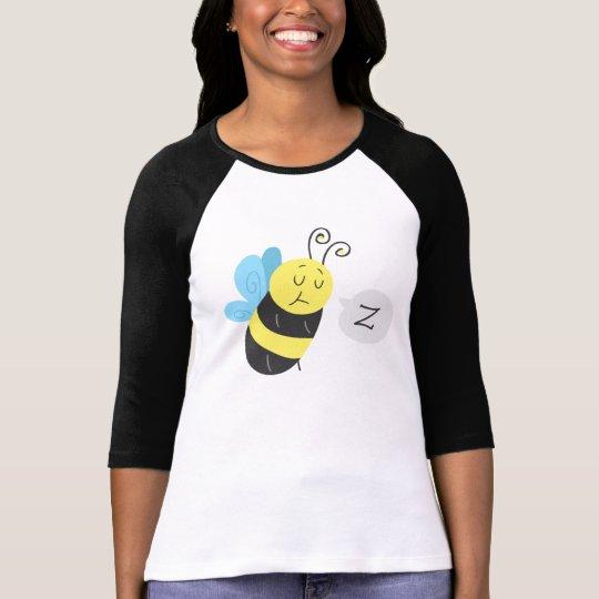 Sleepy Cartoon Bumblebee T-Shirt