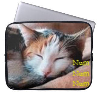 Sleepy Cat Laptop Computer Sleeve