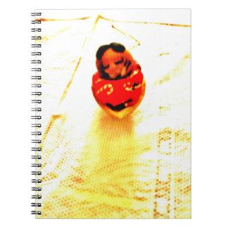Sleepy Chipmunk Spiral Notebook