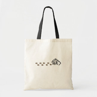 Sleepy Dalmatian Puppy Tote Bag