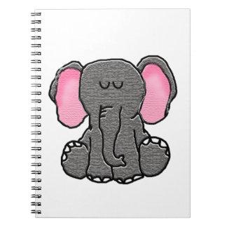 Sleepy Elephant Notebook