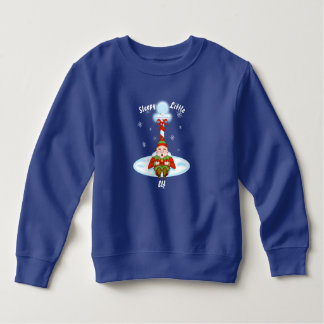 Sleepy Elf Toddler Fleece Sweatshirt