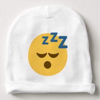 Sleepy Emoji Baby Beanie