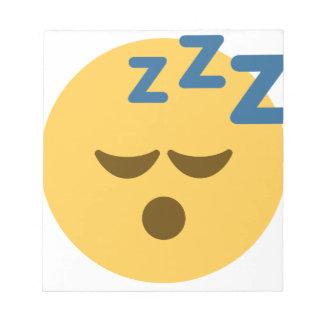 Sleepy Emoji Notepad