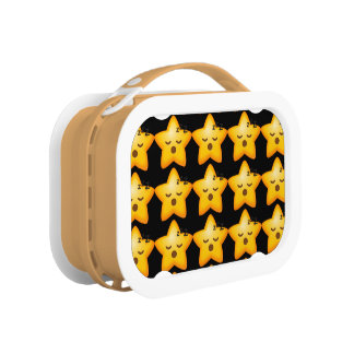 Sleepy Emoji Star Lunch Box