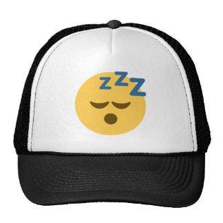 Sleepy Emoji Trucker Hat
