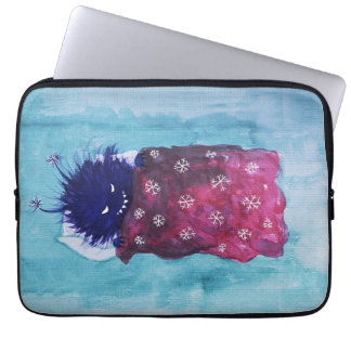 Sleepy Evil Bug Loves To Relax Laptop Sleeve