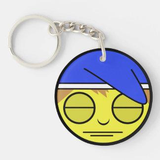 Sleepy Face Keychain