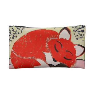 Sleepy Fox Cosmetic Bag