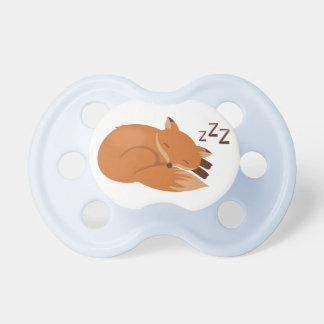 Sleepy Fox Pacifier