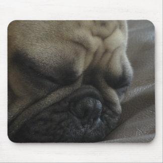 sleepy frenchy mouse pad
