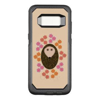 Sleepy Hedgehog and Flowers Phone Case